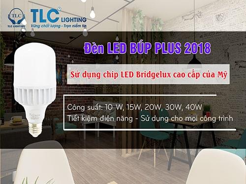 Đèn LED Búp Plus cao cấp TLC Lighting ứng dụng cho những công trình nào?