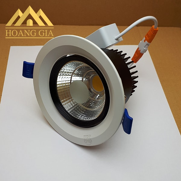 Giá đèn led spotlight âm trần COB chiếu điểm