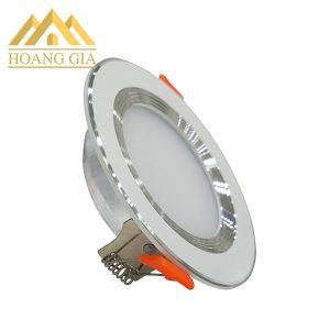 Đèn downlight 5w đế mỏng viền trắng