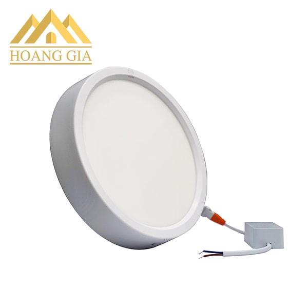 Giá đèn led ốp trần tròn vỏ trắng