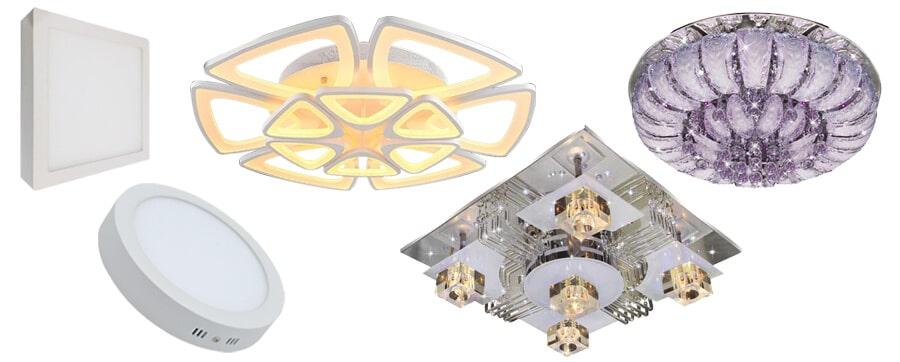 Các loại đèn led ốp trần trên thị trường hiện nay