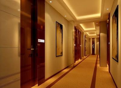 Ứng dụng của đèn led ốp trần tại hành lang