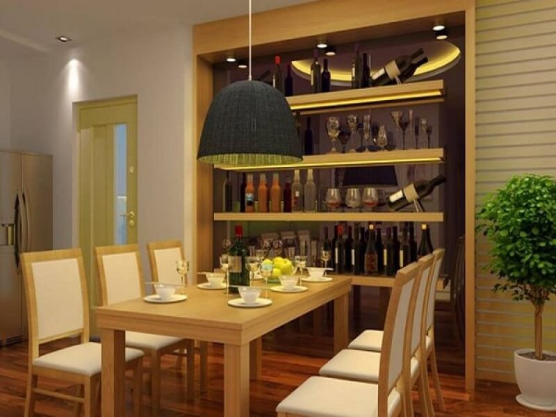đèn ốp trần trang trí phòng bếp ấn tượng 5