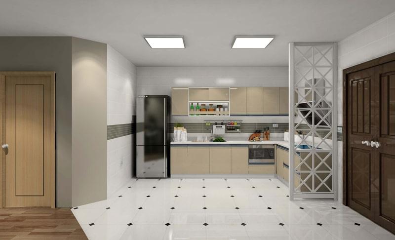đèn ốp trần trang trí phòng bếp ấn tượng 7