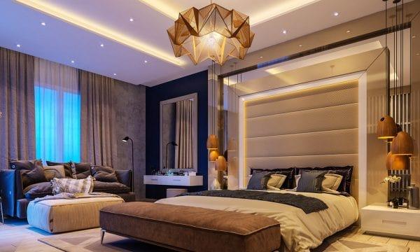 đèn ốp trần phòng ngủ số 2