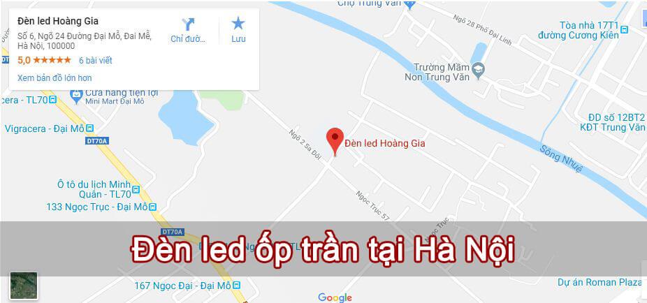 địa chỉ bán đèn led ốp trần Hà Nội