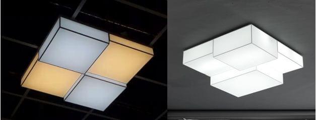 Đèn ốp trần Hàn Quốc đẹp 1