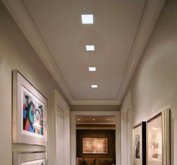 đèn ốp trần hành lang siêu sáng
