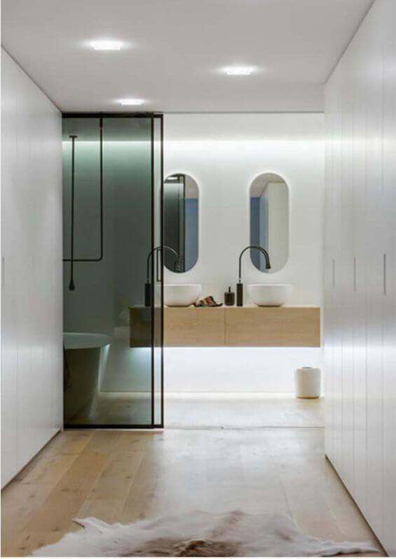 đèn led ốp trần trong nhà tắm, nhà vệ sinh