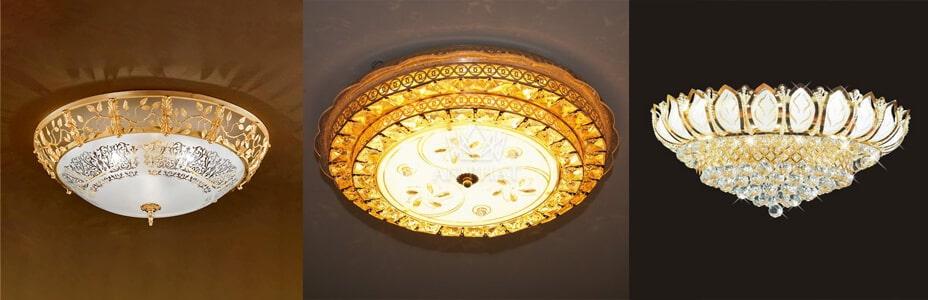 Các mẫu đèn ốp trần trang trí cao cấp