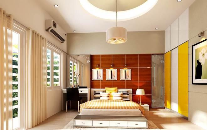 đèn ốp trần phòng ngủ số 1
