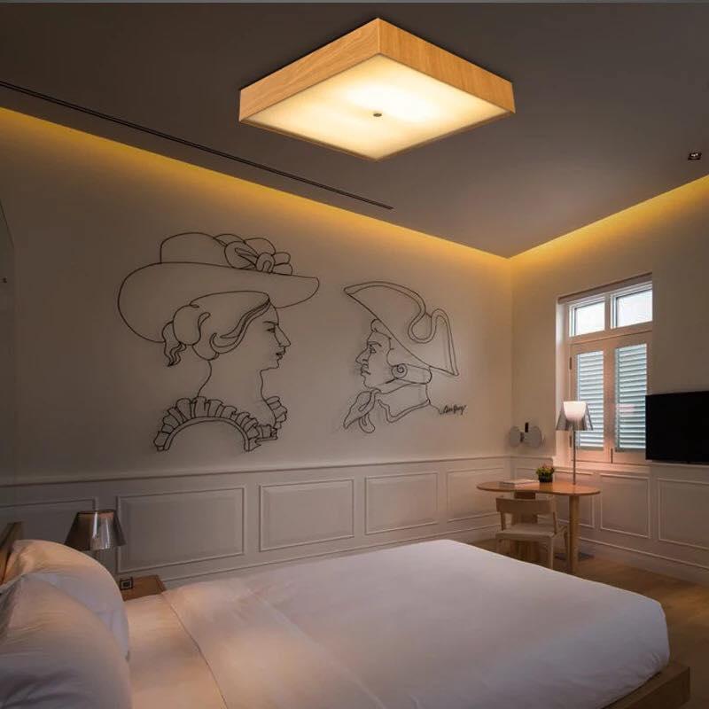 đèn ốp trần phòng ngủ số 8