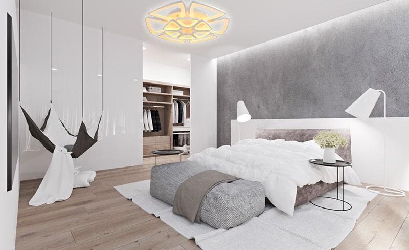 đèn ốp trần phòng ngủ số 9