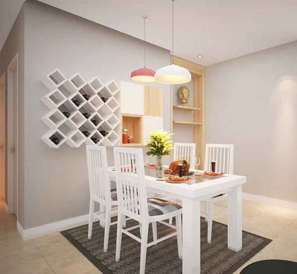 đèn ốp trần trang trí phòng bếp