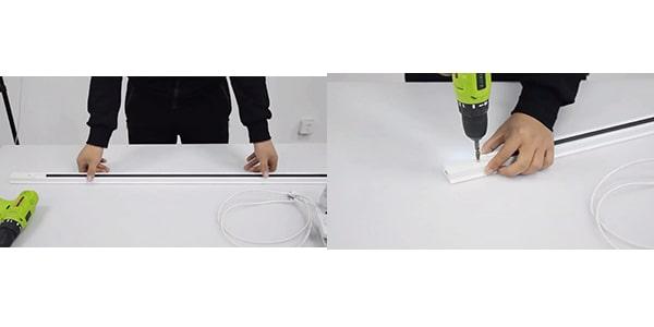 Hướng dẫn lắp đèn rọi ray đơn giản tại nhà - bước 1