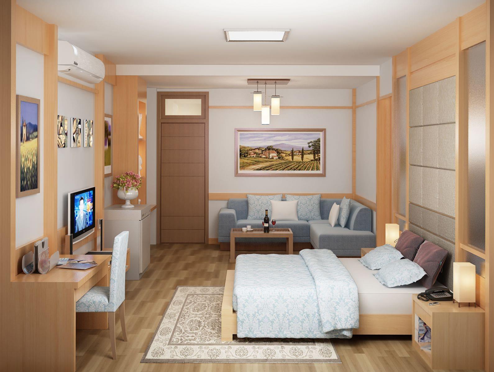 đèn ốp trần phòng ngủ số 5