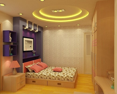 đèn ốp trần phòng ngủ số 6