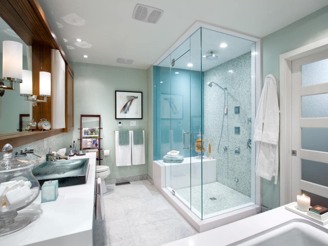Thiết kế đèn led âm trần lắp đặt cho phòng tắm