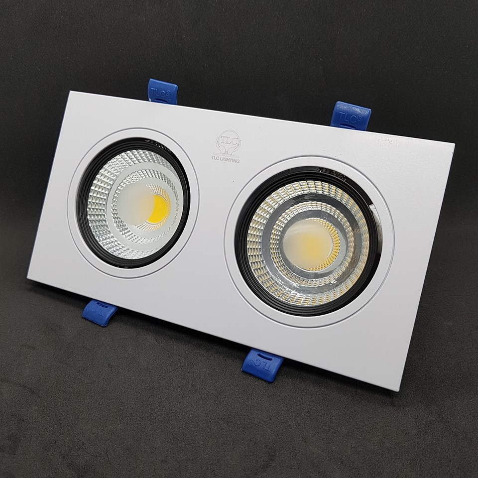 Đèn led downlight chip COB đôi