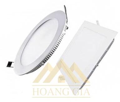 đèn led âm trần siêu mỏng tròn và vuông