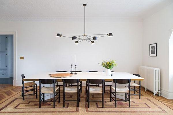 Tại sao sử dụng đèn treo bàn ăn mà không phải loại đèn led trang trí khác