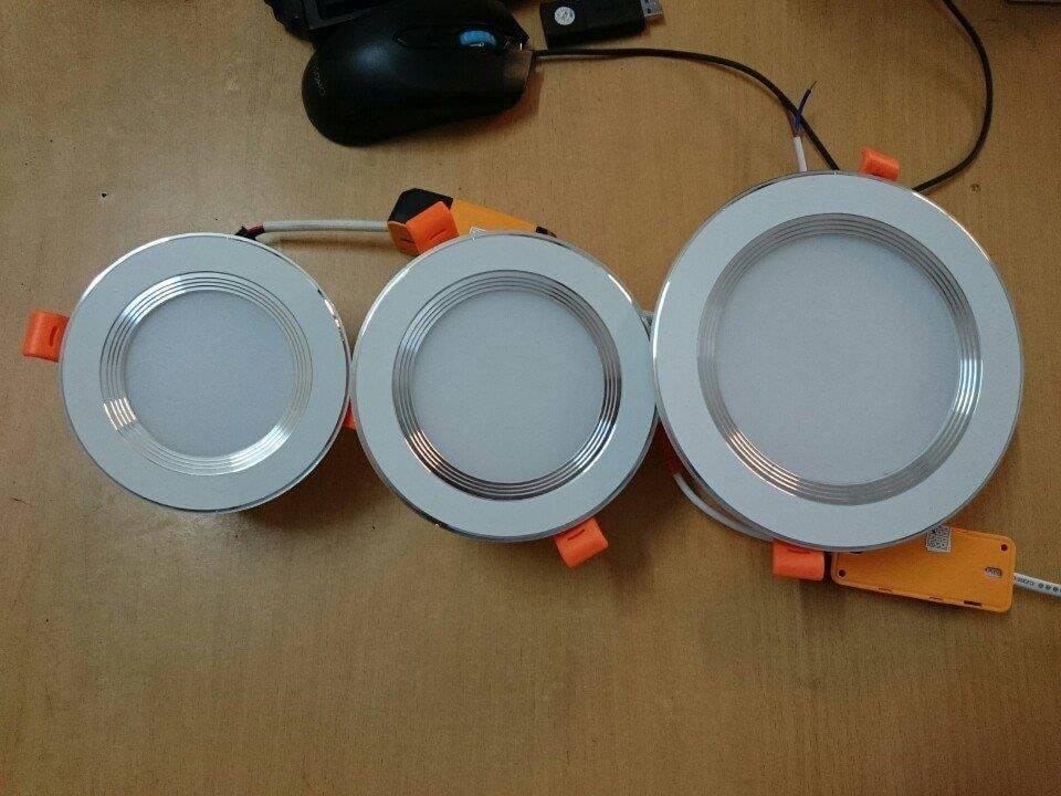 đèn led âm trần có kích thước khoảng khoảng 11-15cm