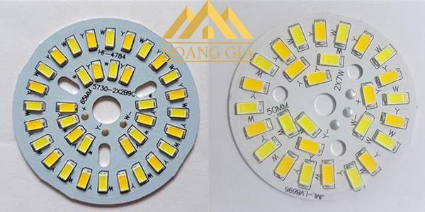 chip đèn led âm trần 3 màu
