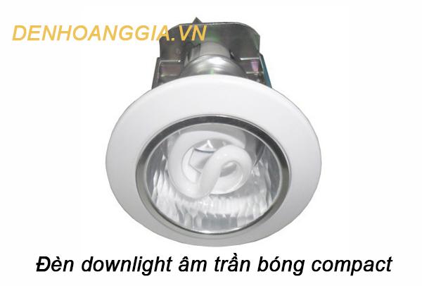 đèn downlight âm trần bóng compact