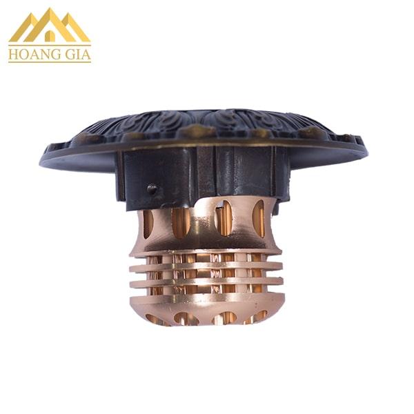 Đèn led âm trần cổ điển mặt đồng TLC Lighitng model TLC-CDS-10W01
