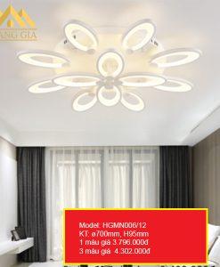 Đèn mâm LED mica HGMN006 12