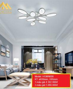 Đèn mâm LED mica HGMN008