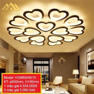 Đèn mâm LED mica HGMN049/15