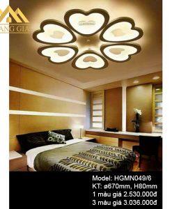 Đèn mâm LED mica HGMN049-6