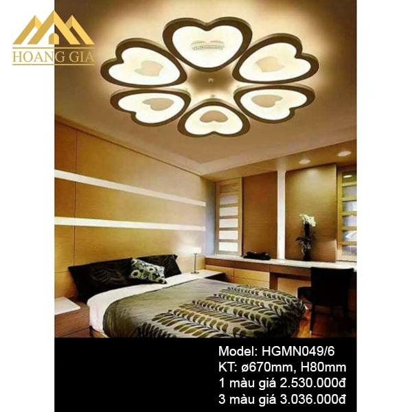 Đèn mâm LED Mica HGMN049/6