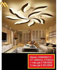 Đèn mâm LED mica HGMN052-12