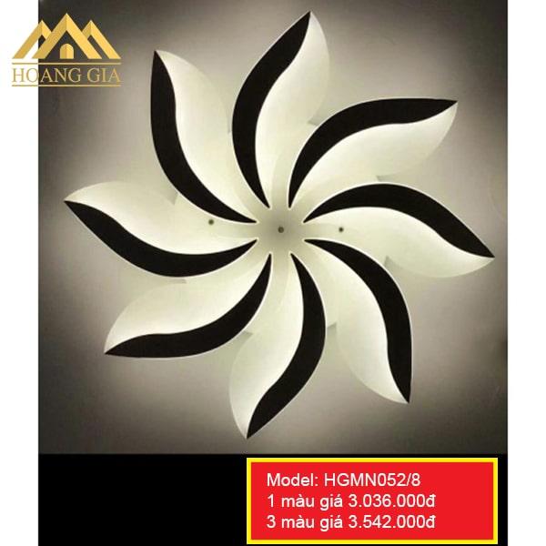 Đèn mâm LED Mica HGMN052/8