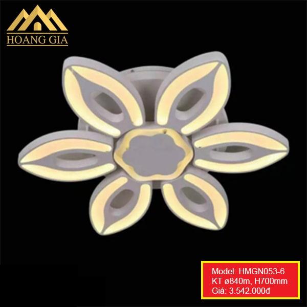 Đèn mâm LED Mica HGMN053/6