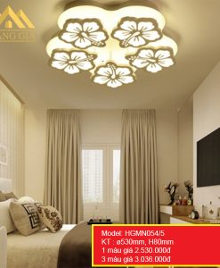 Đèn mâm LED mica HGMN054-5