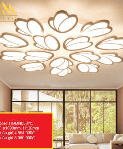 Đèn mâm LED mica HGMN058-15