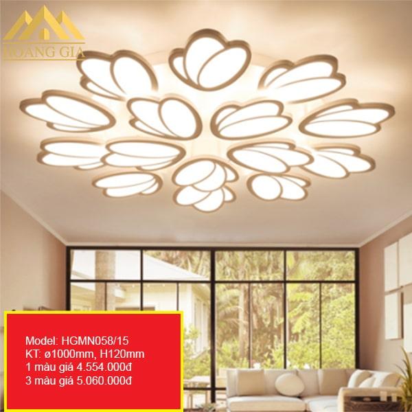 Đèn mâm LED mica HGMN058/15