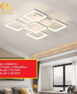 Đèn mâm LED mica HGMN059/5