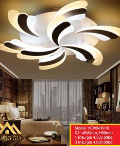 Đèn mâm LED mica HGMN061-9
