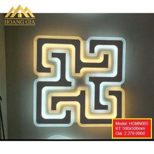 Đèn mâm LED mica HGMN065