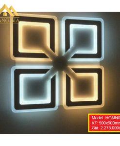Đèn mâm LED mica HGMN066