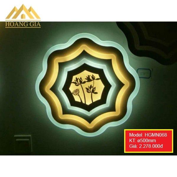 Đèn mâm LED mica HGMN068
