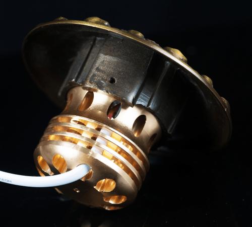 Đèn led âm trần cổ điển 10w mặt mạ vàng 18K