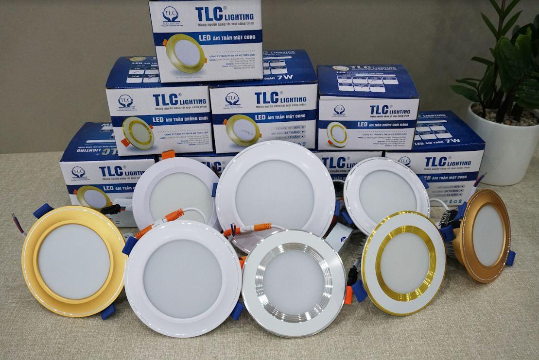 Các loại đèn led âm trần TLC Lighting