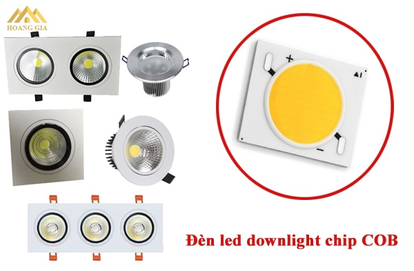 Đèn led downlight chip COB