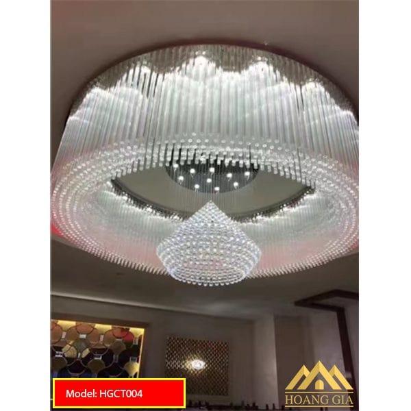 Đèn mâm pha lê LED HGCT004