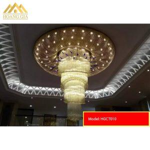 Đèn mâm pha lê LED HGCT010